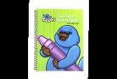 #k72663 퍼글단 색칠과 만들기 책